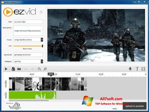 Screenshot Ezvid for Windows 7