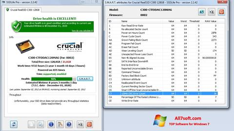 Screenshot SSDLife for Windows 7