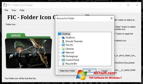 Screenshot Icon Changer for Windows 7