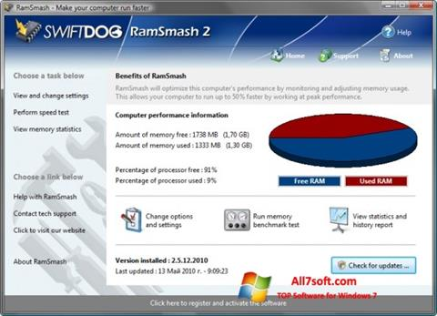 Screenshot RamSmash for Windows 7