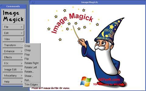 Screenshot ImageMagick for Windows 7
