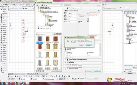 Screenshot ArchiCAD for Windows 7