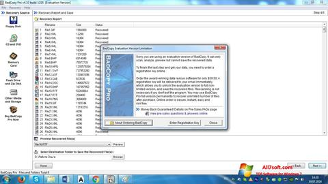 Screenshot BadCopy Pro for Windows 7