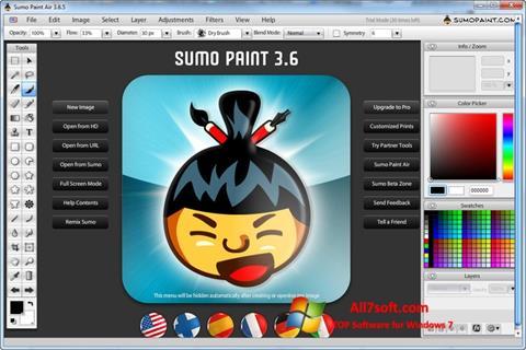 Screenshot SUMo for Windows 7