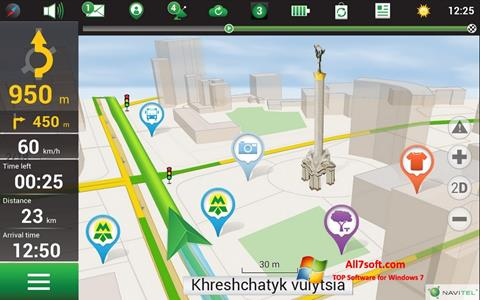 Screenshot Navitel Navigator for Windows 7