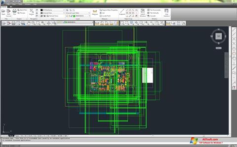 Screenshot DWG TrueView for Windows 7