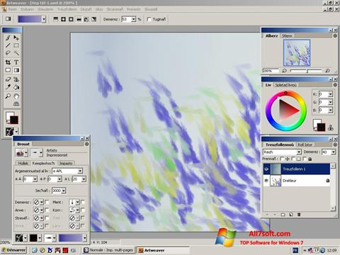 Screenshot Artweaver for Windows 7