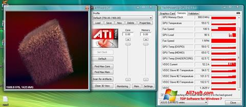 Screenshot ATITool for Windows 7