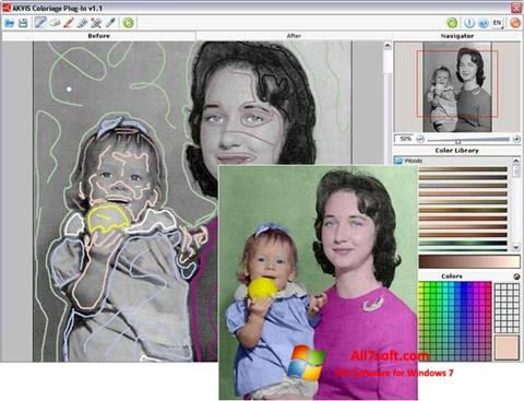 Screenshot AKVIS Coloriage for Windows 7