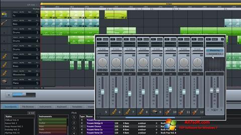 Screenshot MAGIX Music Maker for Windows 7
