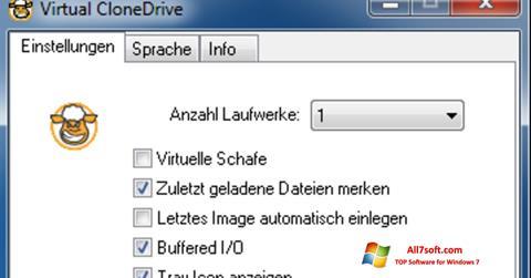 Screenshot Virtual CloneDrive for Windows 7