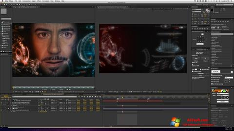 Screenshot Adobe After Effects for Windows 7