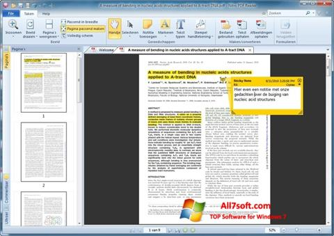 Screenshot Nitro PDF Reader for Windows 7