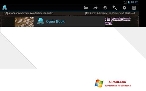 Screenshot AlReader for Windows 7