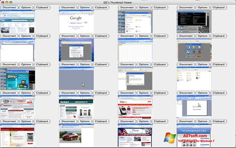 Screenshot VNC Viewer for Windows 7