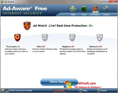 Screenshot Ad-Aware for Windows 7