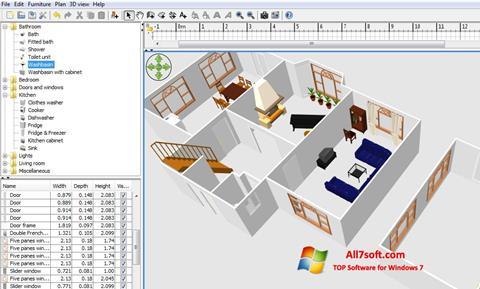 Screenshot FloorPlan 3D for Windows 7