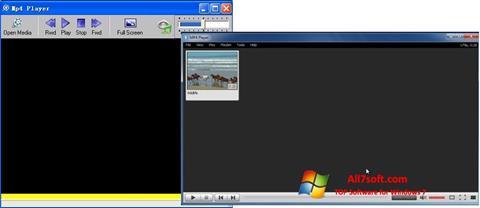 Screenshot MP4 Player for Windows 7