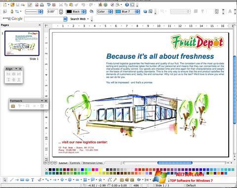 Screenshot Apache OpenOffice for Windows 7