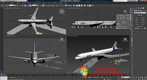 Screenshot 3ds Max for Windows 7