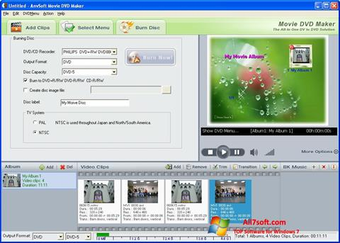 Screenshot DVD Maker for Windows 7