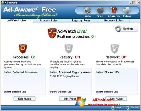 Screenshot Ad-Aware Free for Windows 7