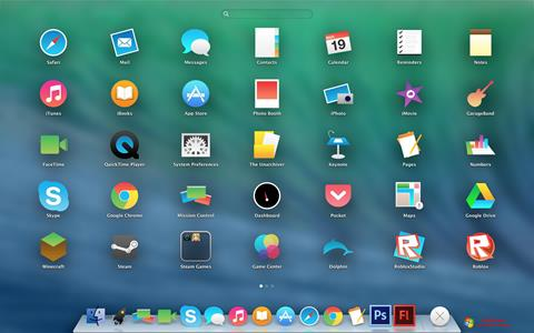 Screenshot OS X Flat IconPack Installer for Windows 7