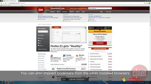 Screenshot Comodo Dragon for Windows 7