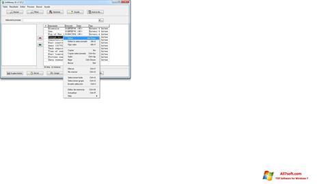 Screenshot ArtMoney Pro for Windows 7