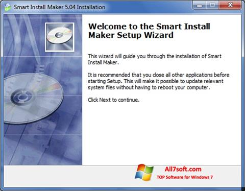 Screenshot Smart Install Maker for Windows 7