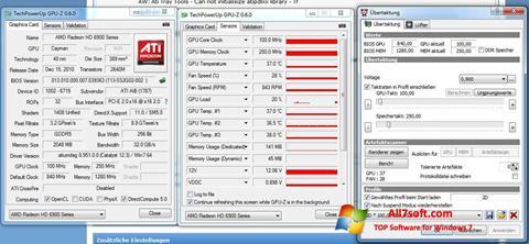 Screenshot ATI Tray Tools for Windows 7