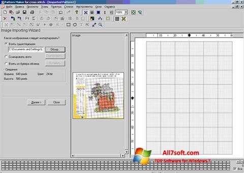 Screenshot Pattern Maker for Windows 7