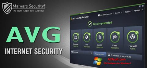 Screenshot AVG Internet Security for Windows 7