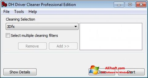 Screenshot Driver Cleaner for Windows 7