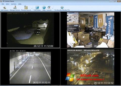 Screenshot IP Camera Viewer for Windows 7
