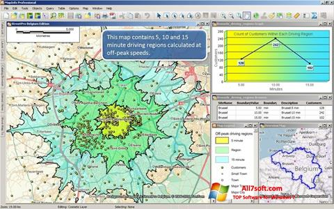 Screenshot MapInfo Professional for Windows 7