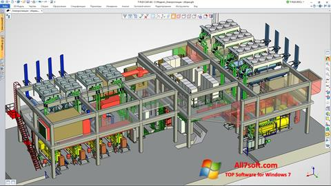 Screenshot T-FLEX CAD for Windows 7