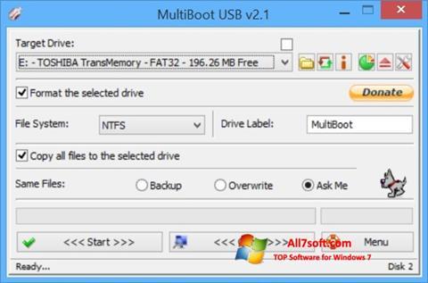 Screenshot Multi Boot USB for Windows 7