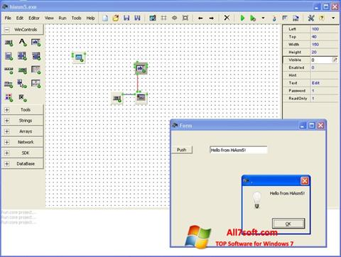 Screenshot HiAsm for Windows 7