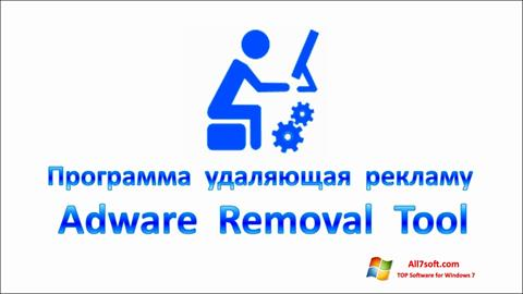 Screenshot Adware Removal Tool for Windows 7
