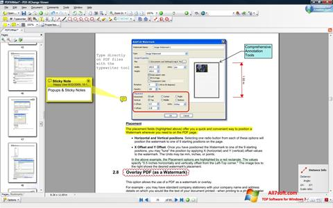 Screenshot PDF-XChange Viewer for Windows 7