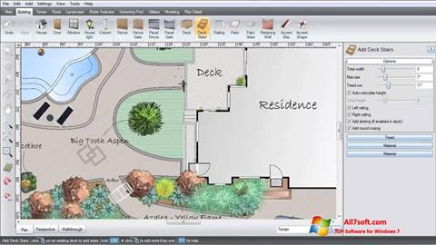 Screenshot Realtime Landscaping Architect for Windows 7