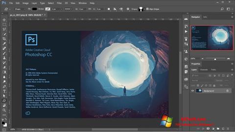 Screenshot Adobe Photoshop for Windows 7
