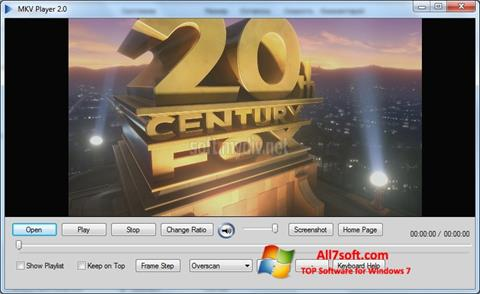 Screenshot MKV Player for Windows 7