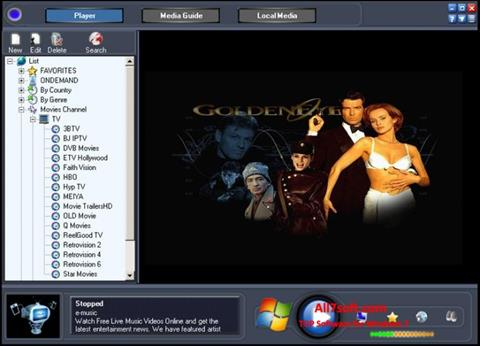 Screenshot Online TV Live for Windows 7