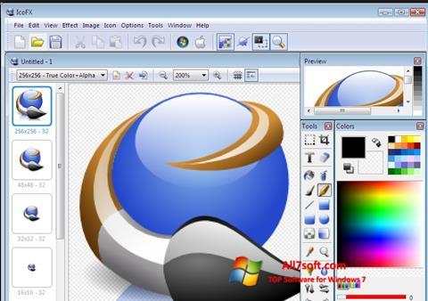 Screenshot IcoFX for Windows 7