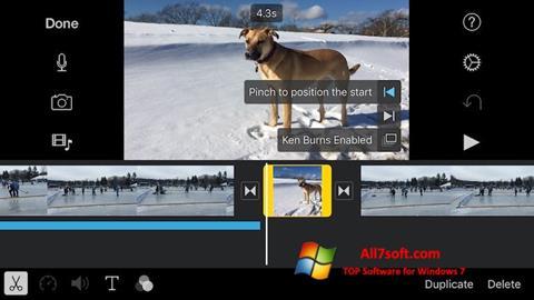 Screenshot iMovie for Windows 7