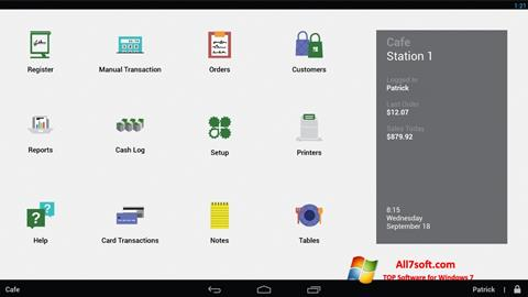 Screenshot Clover for Windows 7