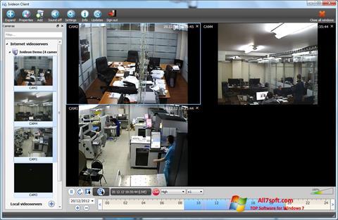 Screenshot Ivideon Server for Windows 7