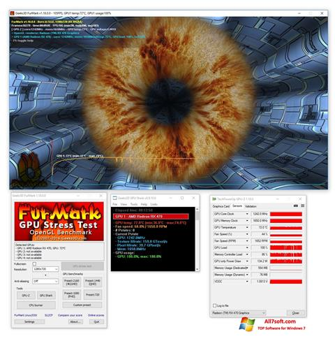 Screenshot FurMark for Windows 7
